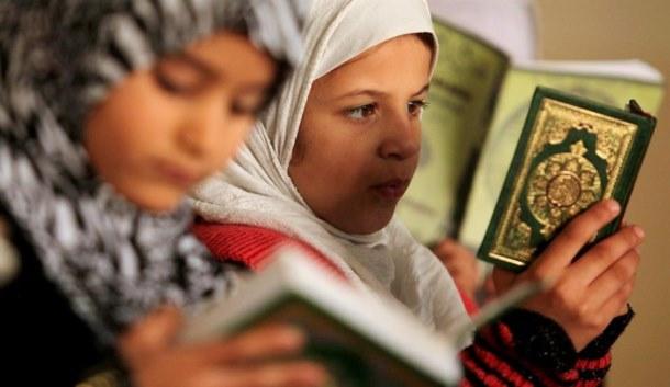 Gazze'de Kur'an-ı Kerim kursu 1