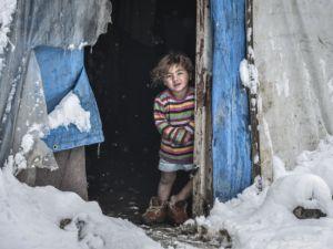 Ankara'daki Suriyelilerin soğukla mücadelesi