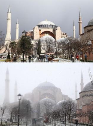 Türkiye'de kış manzarası 23