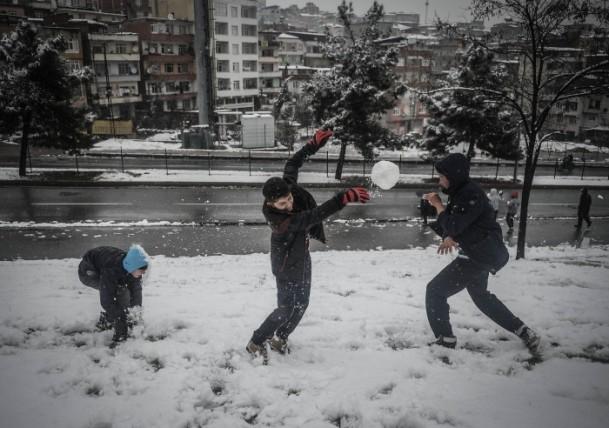 Türkiye'de kış manzarası 25