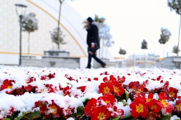 Türkiye'de kış manzarası 3