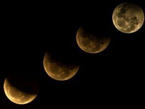 Kanlı ay tutulması böyle gözlendi