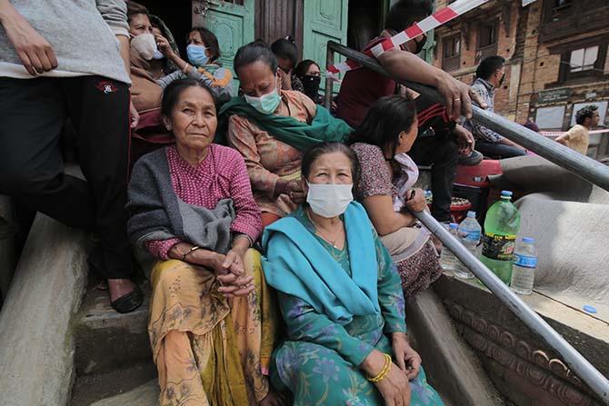 Nepal'in deprem sonrası fotoğrafları 1