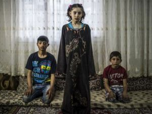 Suriye'nin ruhu yaralı çocukları