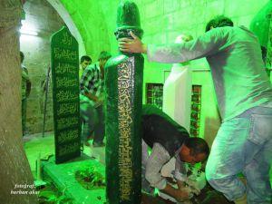Badıllı Ağabeyin mezar taşı yapıldı