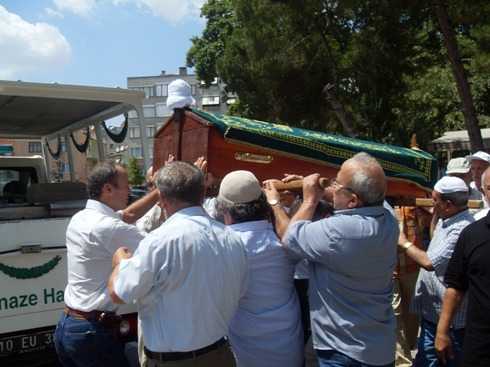Hasan Aktunç-Cenaze 5