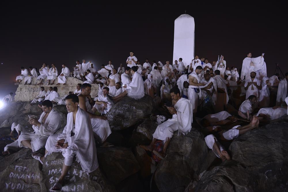 Arafat vakfesinden güzel manzaralar 1
