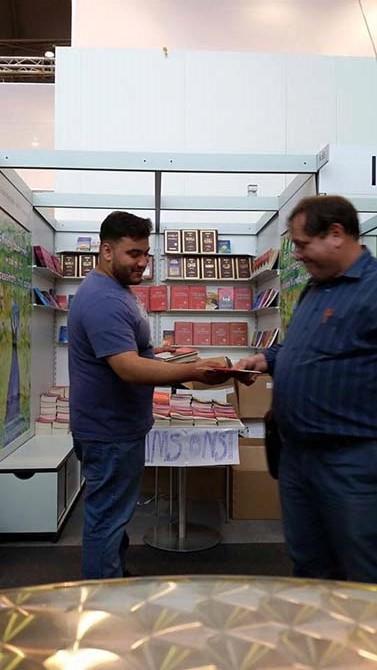 Dünyanın en büyük kitap fuarında Risale-i Nur'u tanıttılar 3