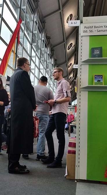 Dünyanın en büyük kitap fuarında Risale-i Nur'u tanıttılar 8