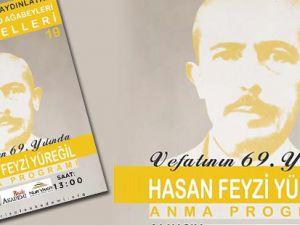 Hasan Feyzi Yüreğil anma programından kareler