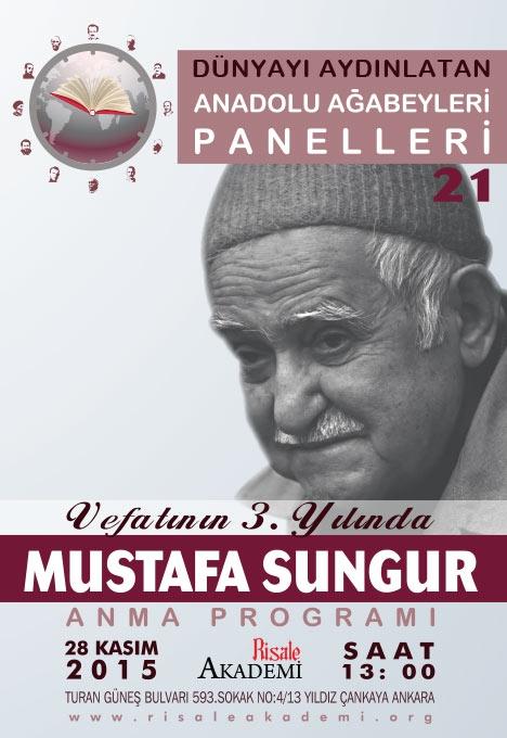 Mustafa Sungur Ağabey Anma Programı 1