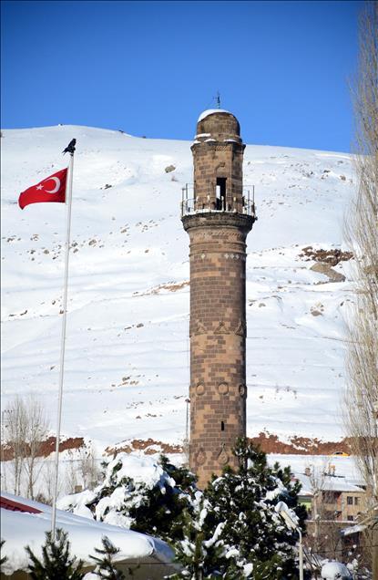 Tarihi kentte kış güzelliği 1