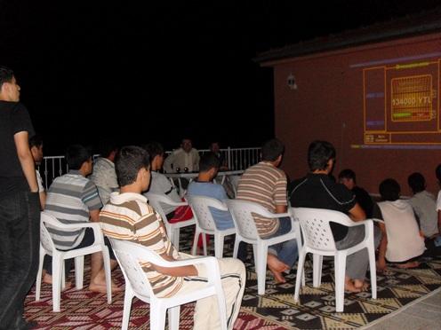 Hazar'da Okuma Programı 4