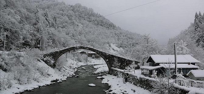 Doğu Karadeniz'de kış 1