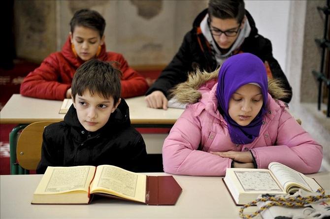 Saraybosna yeni hafızlarını yetiştiriyor 6