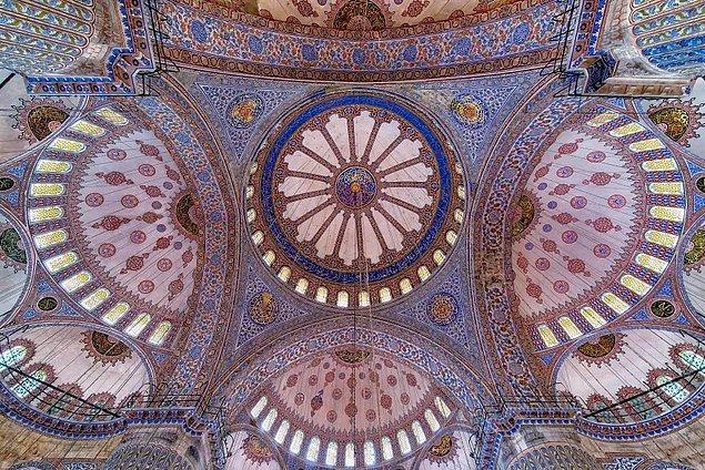 """İslam Mimarisinin en güzel örneklerinden olan """"Cam Süslemeleri"""" 1"""