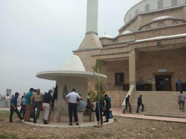 Mersin Üniversitesi'nde cami sevinci 1