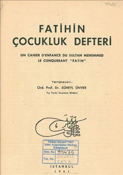 Fatih Sultan Mehmet'in not defteri 4