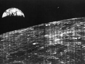 Uzaydan çekilmiş ilk Dünya fotoğrafları