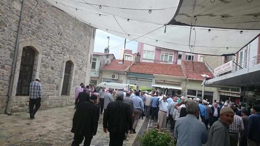 Mahmut Çalışkan Ağabey dualarla ebediyete uğurlandı 1