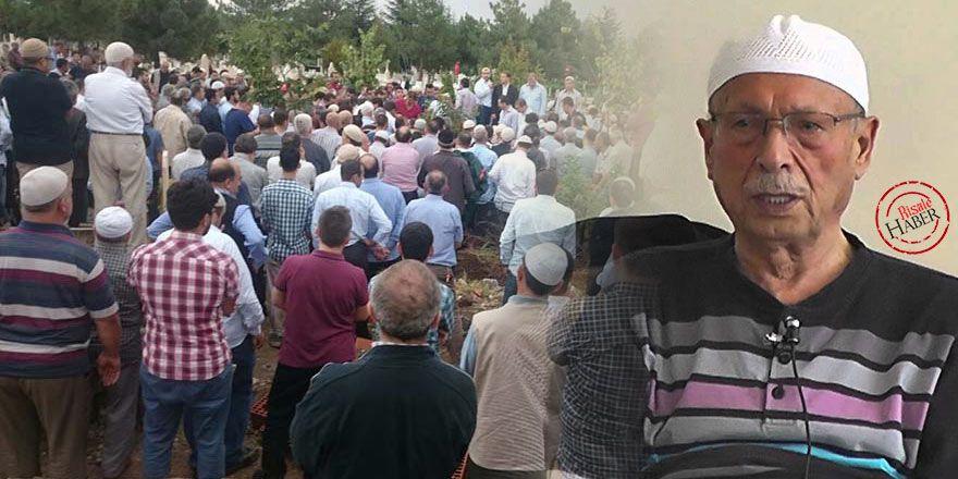 Mahmut Çalışkan Ağabey dualarla ebediyete uğurlandı