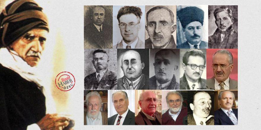 Bediüzzaman Said Nursi'nin avukatlarının tam listesi