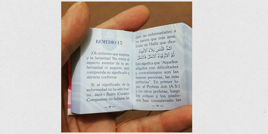 Arjantin'de minyatür Risale-i Nur sürprizi