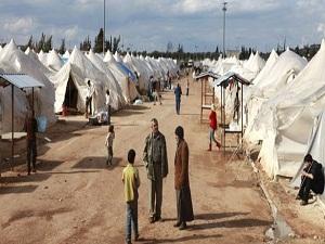 BAE, Suriyeliler için Erbil'de kamp kurdu