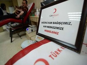 Türk Kızılayı kanı çöpe atmıyor