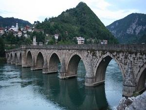 Tarihi Drina Köprüsü restore ediliyor