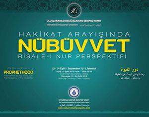 Uluslararası Nübüvvet Sempozyumunun programı