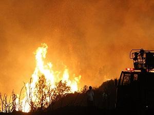 Başkent'te aralık ayında 565 yangın çıktı