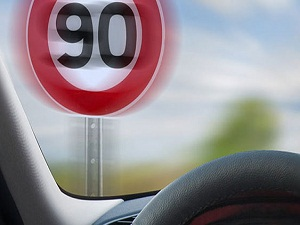 Bölünmüş yollarda hız 90 km çıkarıldı