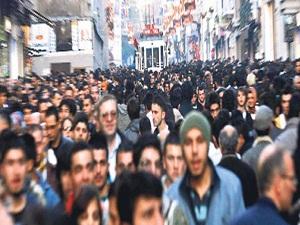 Türkiye nüfusu 76,7 milyon kişi