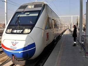 Hızlı trenin istasyonları kuruluyor