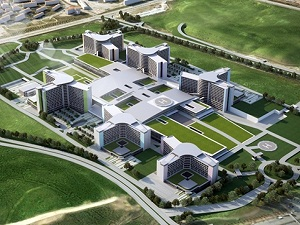 Başkent'in ikinci şehir hastanesinin temeli yarın atılıyor
