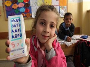 164 bin öğrenciye okul sütü