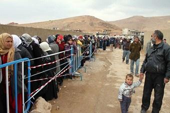 Lübandaki Suriyeli mülteci günlük 1 dolar ile geçiniyor