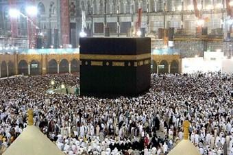 Müslümanlar Kabe'ye akın etti