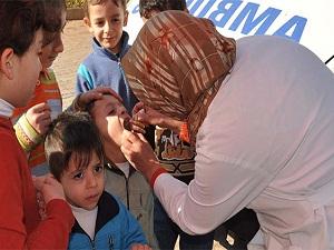 Sağlık Bakanlığı: Sınır kapılarında yaşına bakılmaksızın tüm çocuklar aşılanıyor