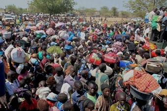 Güney Sudanlı sivillerin kamplarda yaşam mücadelesi