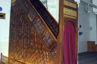 Manisa Ulu Cami'nin minberi, ahşap oymacılığının şaheseri