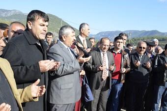 Şehitler Camii'nin temeli törenle atıldı