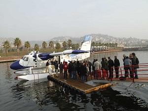 İzmit-Haliç arası deniz uçağı seferleri başladı