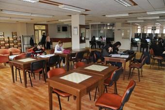 OMÜ Merkez Kütüphanesi 24 saat hizmet verecek