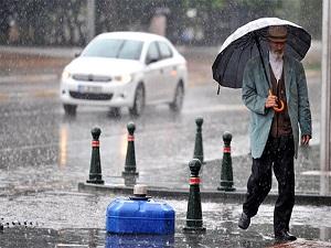 Beklenen yağış haftasonu geliyor
