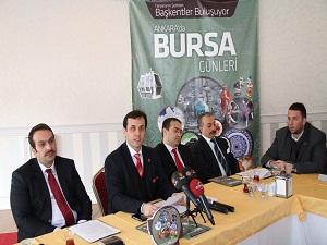 Bursa'nın zenginlikleri, Ankara'da tanıtılacak