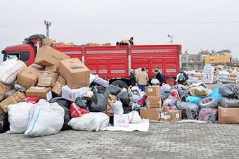 Suriye Türkmenlerinden Türkiye'ye insani yardım teşekkürü