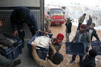 Suriye'deki savaş mağdurları Türkiye'ye minnettar