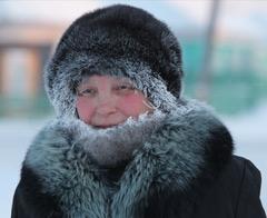Sibirya'da dışarı çıkan donacak